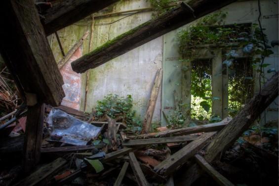 italy haunted poveglia collpased building