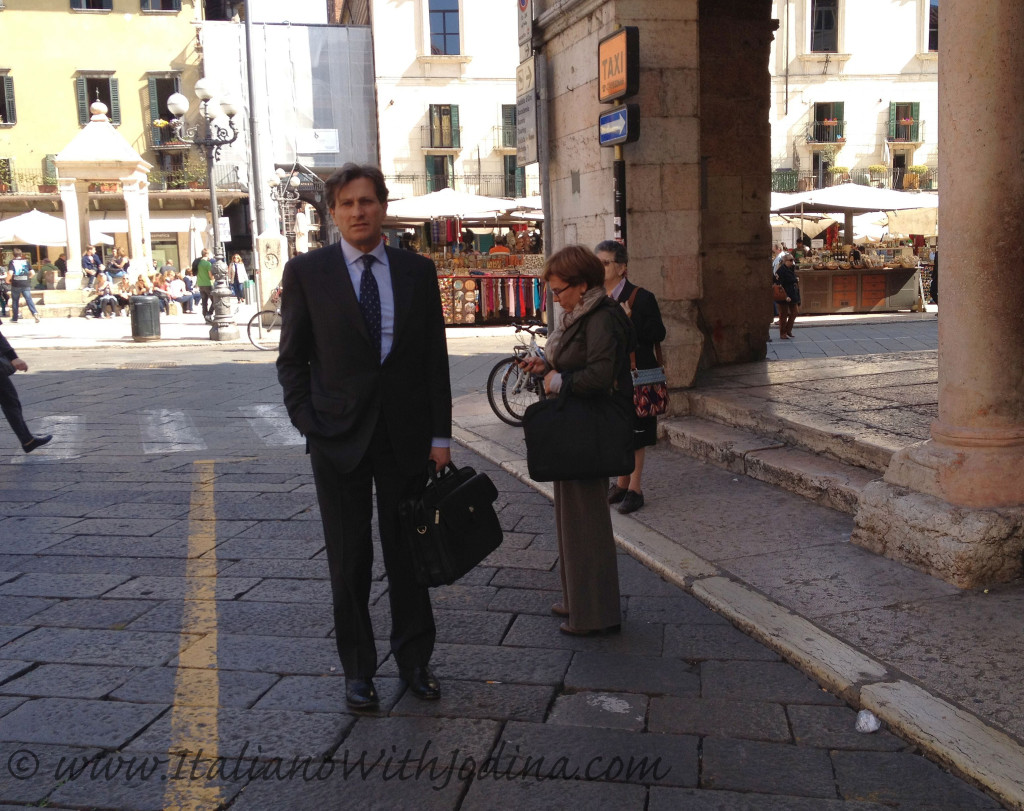 business man in verona