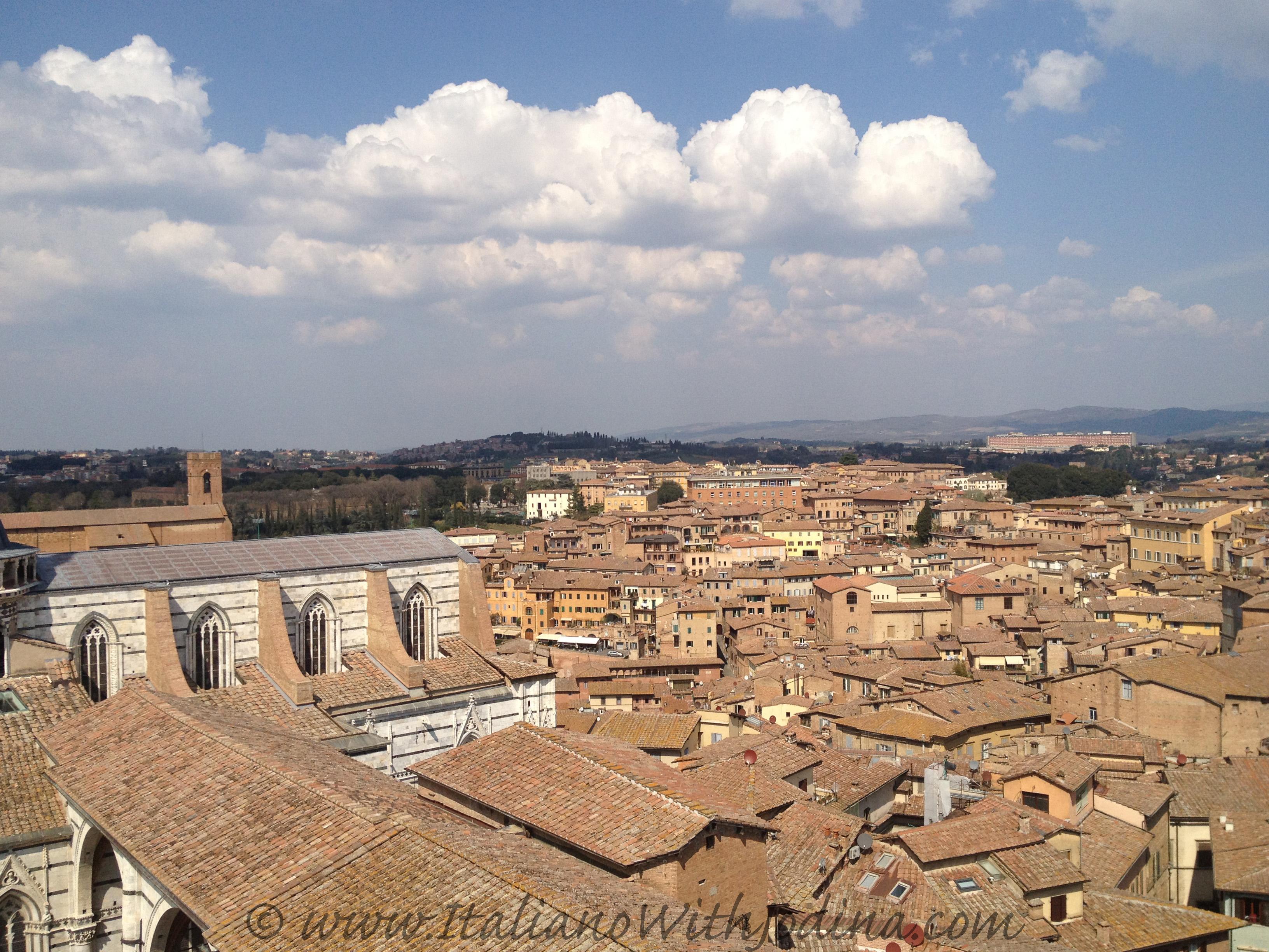 Siena Part 2 Veduta Mozzafiato Dalla Terrazza Panormica