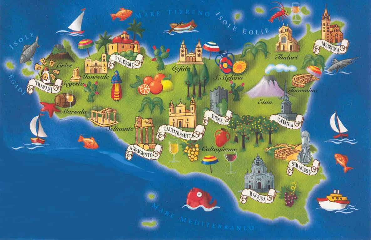 Sicily 2015 – Sicily Tourist Map